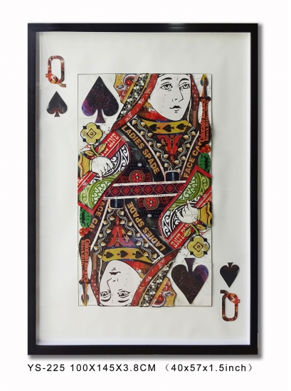 Poker Big Wall Art Art for Club
