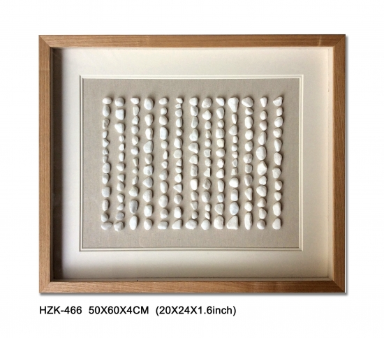 White Stone Shadow Box