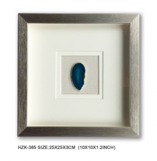 Agate Slice Shadow Box