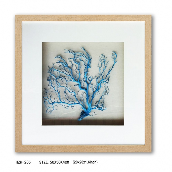 Shadow Box blue sea fan