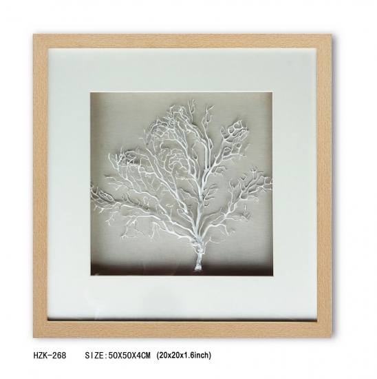 Shadow Box White  sea fan