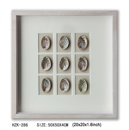 Sea-ear 9pcs Shadow Box