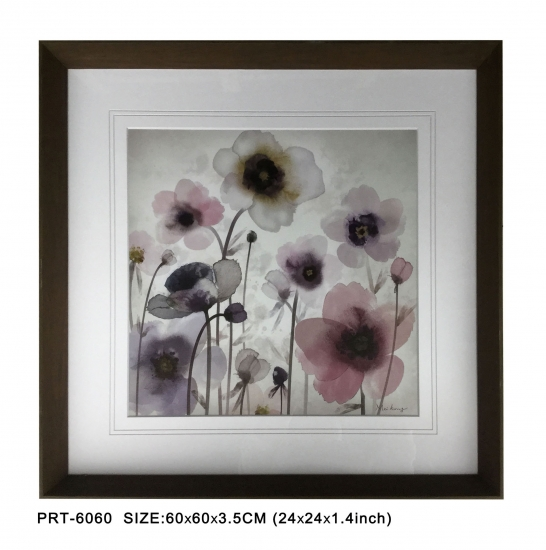Poppy Flower Framed Wall Art
