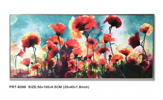 Flower Canvas Print Art