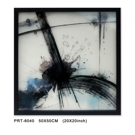 Abstract Glass Printed art