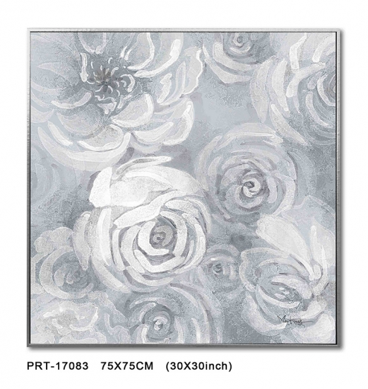 Abstract Flower Picture Canvas Art