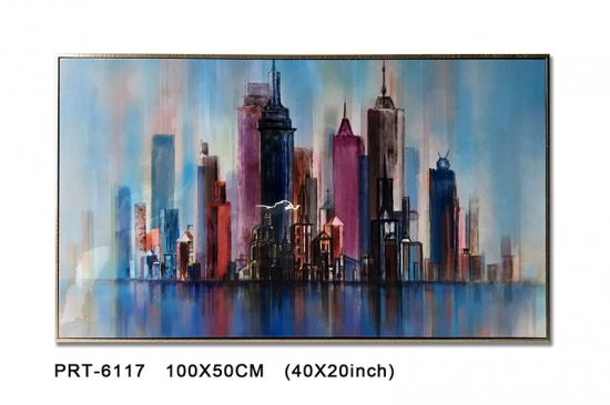Abstract Cityview Home Decoration