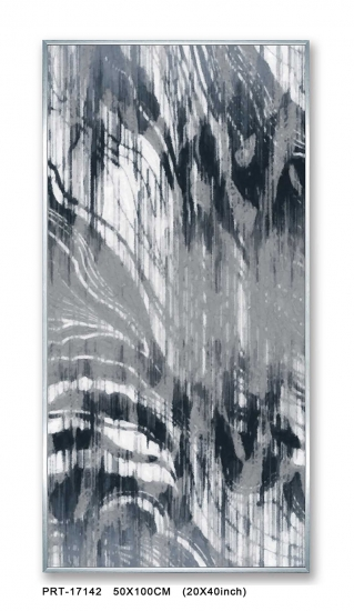 Fashion Abstract Grey Embellished Print