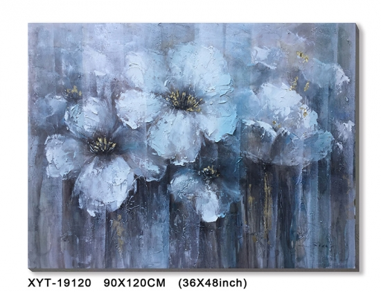 Flower Canvas Oil Painting
